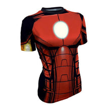 Hot sales women's T-shirt 3D printing Tee Marvel Super Hero Quick-Drying T shirt high quality - Clearlygeek - 5