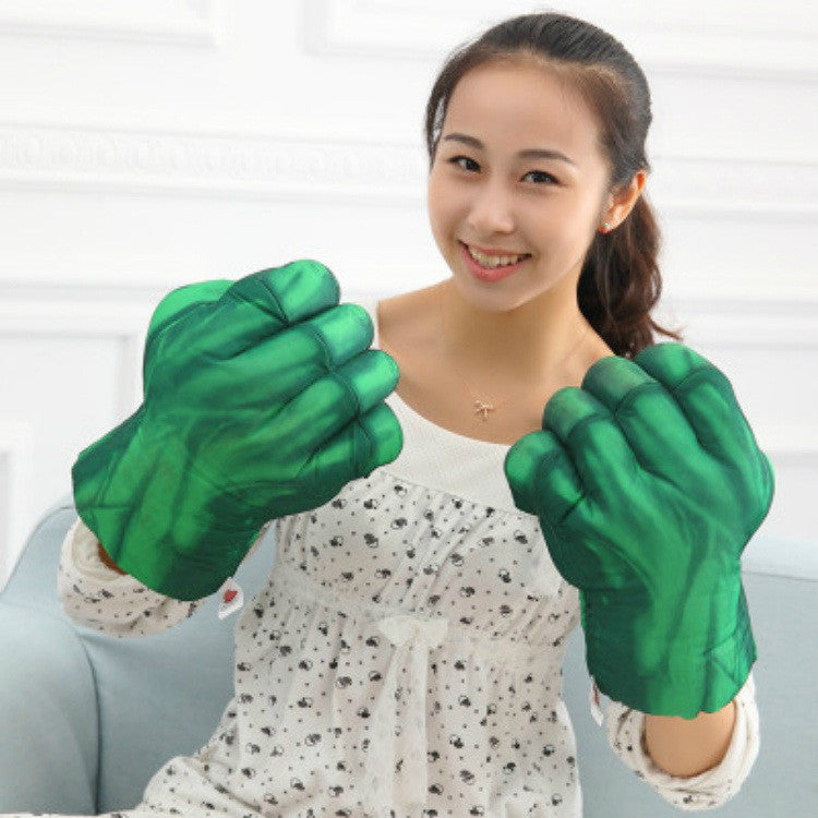 Plush The Incredible Hulk Gloves 11