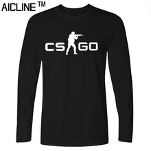 Long sleeved T Shirt COUNTER STRIKE GLOBAL CS Gun T shirts Summer Slim Fit Casual Man Tees Fashion Normal T-shirts - Clearlygeek - 5