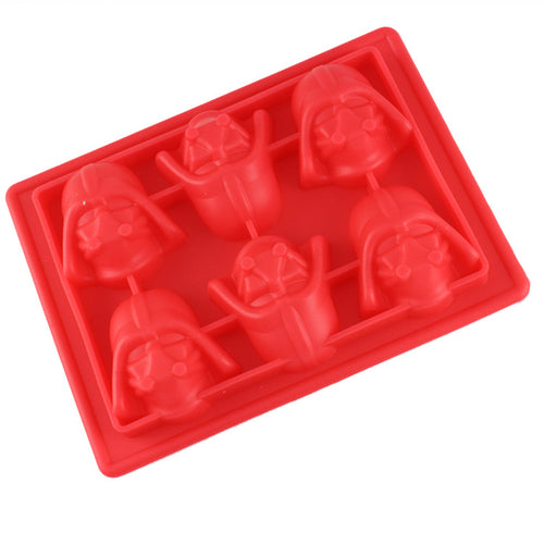 1pcs 3D Death Star Wars Darth Vader Ice Tray Cube Lego Ice Tray Mold Silicone Chocolate Maker Mold Kitchen DIY Baking ToolsCT529 - Clearlygeek