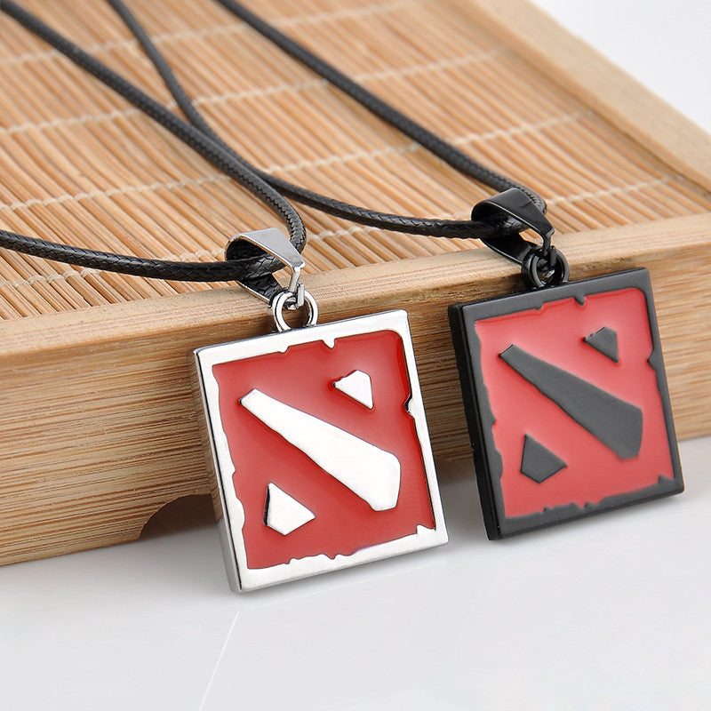 New 2015 Hot Network Game Dota 2 Pendant Necklace Europe America Women And Men Enamel Necklace Game Jewelry men's Gifts - Clearlygeek