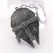 The Moive StarWars Spacecraft alloy silver metal keychain pendant Key Chains star wars ship Keyrings chaveiro llaveros for men - Clearlygeek - 1