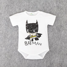 Baby Superman and Batman Short Sleeves rompers for Boys, Newborn Baby Romper, Toddler Underwear, Infant Clothing - Clearlygeek - 3