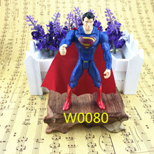 Free shipping a 9-10 cm Avengers super hero toy Hulk Captain America Superman Batman toys birthday gift ornaments collection - Clearlygeek - 6