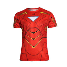 Hot sales 2015 New compressed t-shirt hot Super hero Lightning  Iron man t shirt men sports quick dry fitness clothing - Clearlygeek - 7
