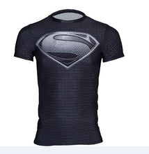 2015 American league devil batman superman tights man, the man of the super elastic sleeve round collar T-shirt fitness clothing - Clearlygeek - 3