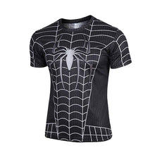 Hot sales 2015 New compressed t-shirt hot Super hero Lightning  Iron man t shirt men sports quick dry fitness clothing - Clearlygeek - 14