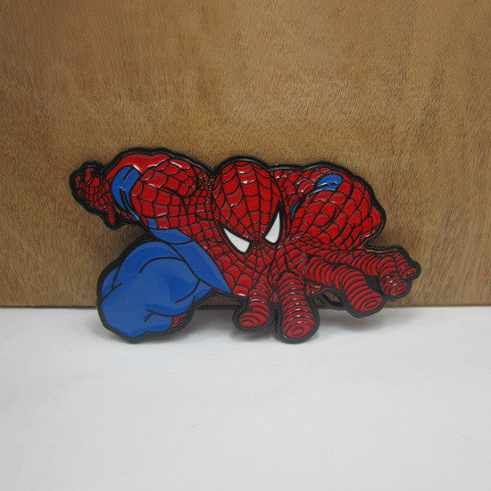 Superhero The Avengers marvel Zinc alloy spider man belt buckle - Clearlygeek