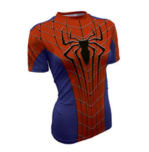 Hot sales women's T-shirt 3D printing Tee Marvel Super Hero Quick-Drying T shirt high quality - Clearlygeek - 3