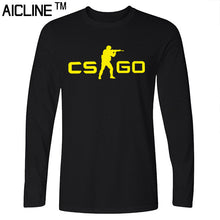 Long sleeved T Shirt COUNTER STRIKE GLOBAL CS Gun T shirts Summer Slim Fit Casual Man Tees Fashion Normal T-shirts - Clearlygeek - 1
