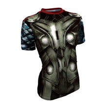 Hot sales women's T-shirt 3D printing Tee Marvel Super Hero Quick-Drying T shirt high quality - Clearlygeek - 7