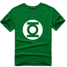 The Big Bang Theory T-shirt Sheldon Cooper super hero green lantern the flash cosplay t shirts comic science geek tee tshirt - Clearlygeek - 2