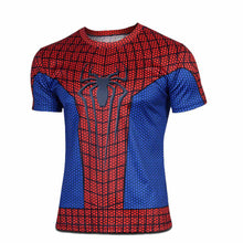 2015 Top Sales Superhero T shirt Tee Superman Spiderman Batman Avengers Captain America Ironman 20 Style Cycling Clothing S-4XL - Clearlygeek - 12