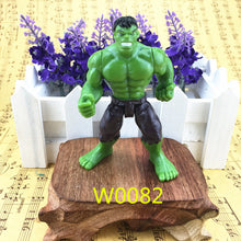 Free shipping a 9-10 cm Avengers super hero toy Hulk Captain America Superman Batman toys birthday gift ornaments collection - Clearlygeek - 3