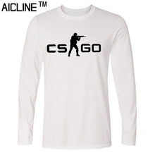 Long sleeved T Shirt COUNTER STRIKE GLOBAL CS Gun T shirts Summer Slim Fit Casual Man Tees Fashion Normal T-shirts - Clearlygeek - 9