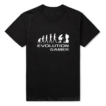 Evolution Of A Gamer PC Geek T Shirt short sleeve O-Neck Anime Funny t-shirt men clothing Plus Size - Clearlygeek - 7