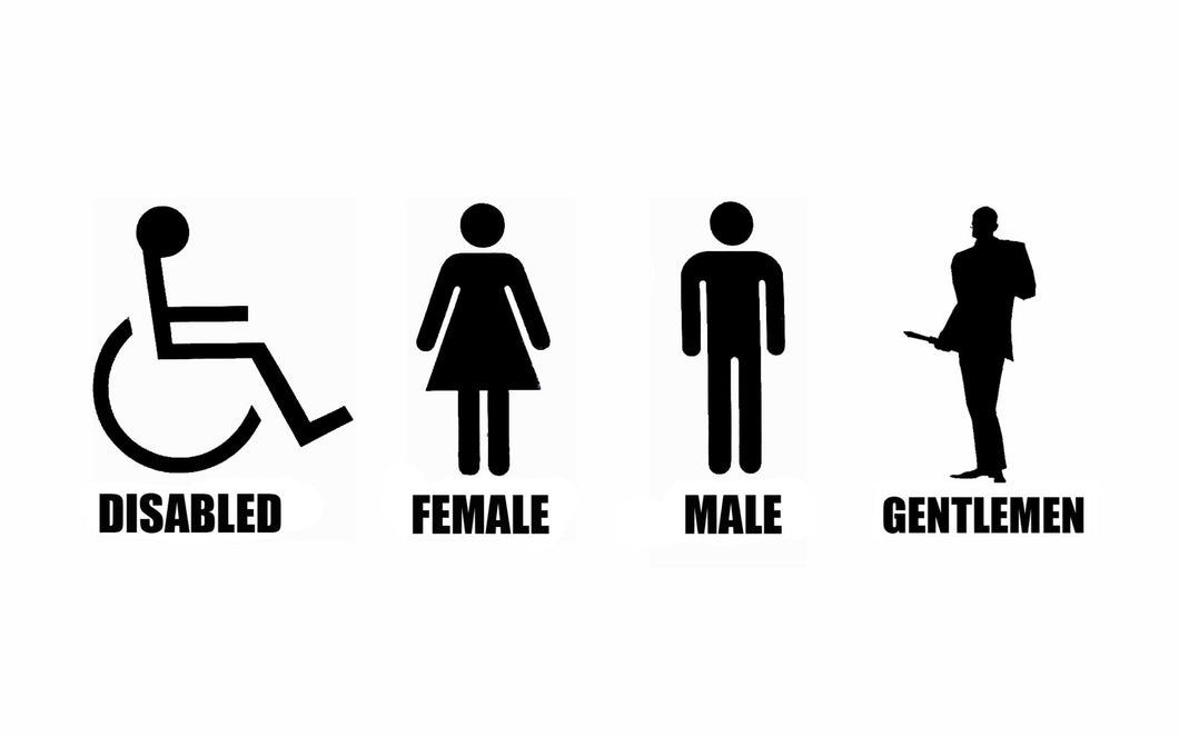 humor team fortress 2 simplist disabled female male gentlemen abstract Home Decoration Canvas Poster Prints - Clearlygeek
