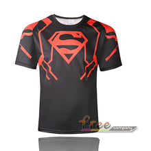 Hot sales 2015 New compressed t-shirt hot Super hero Lightning  Iron man t shirt men sports quick dry fitness clothing - Clearlygeek - 3