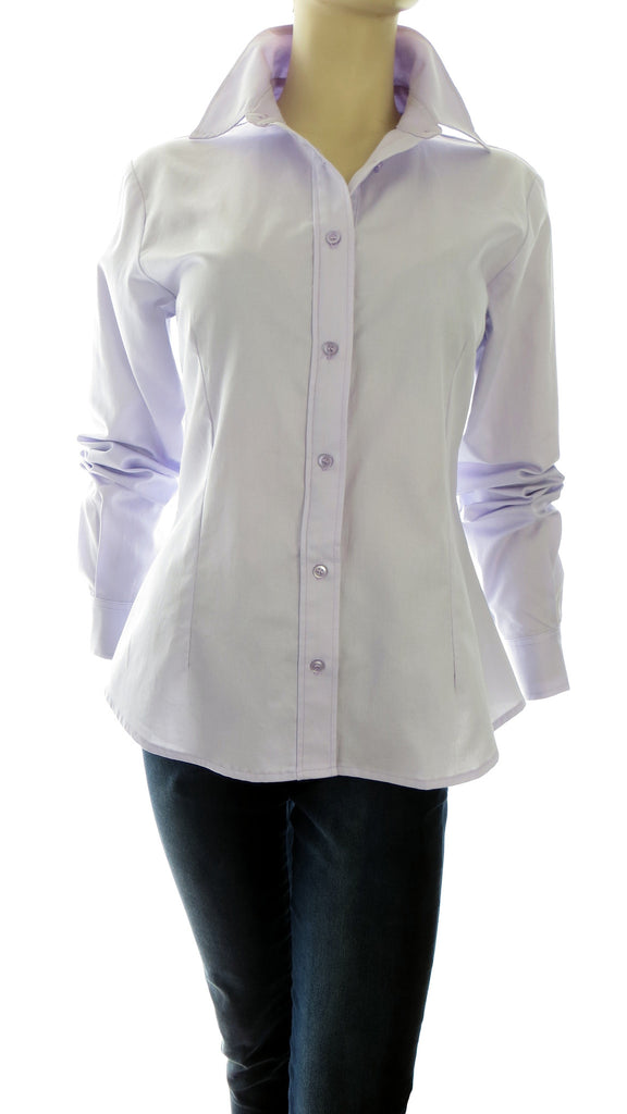 Primo Lavender Button-Up Shirt
