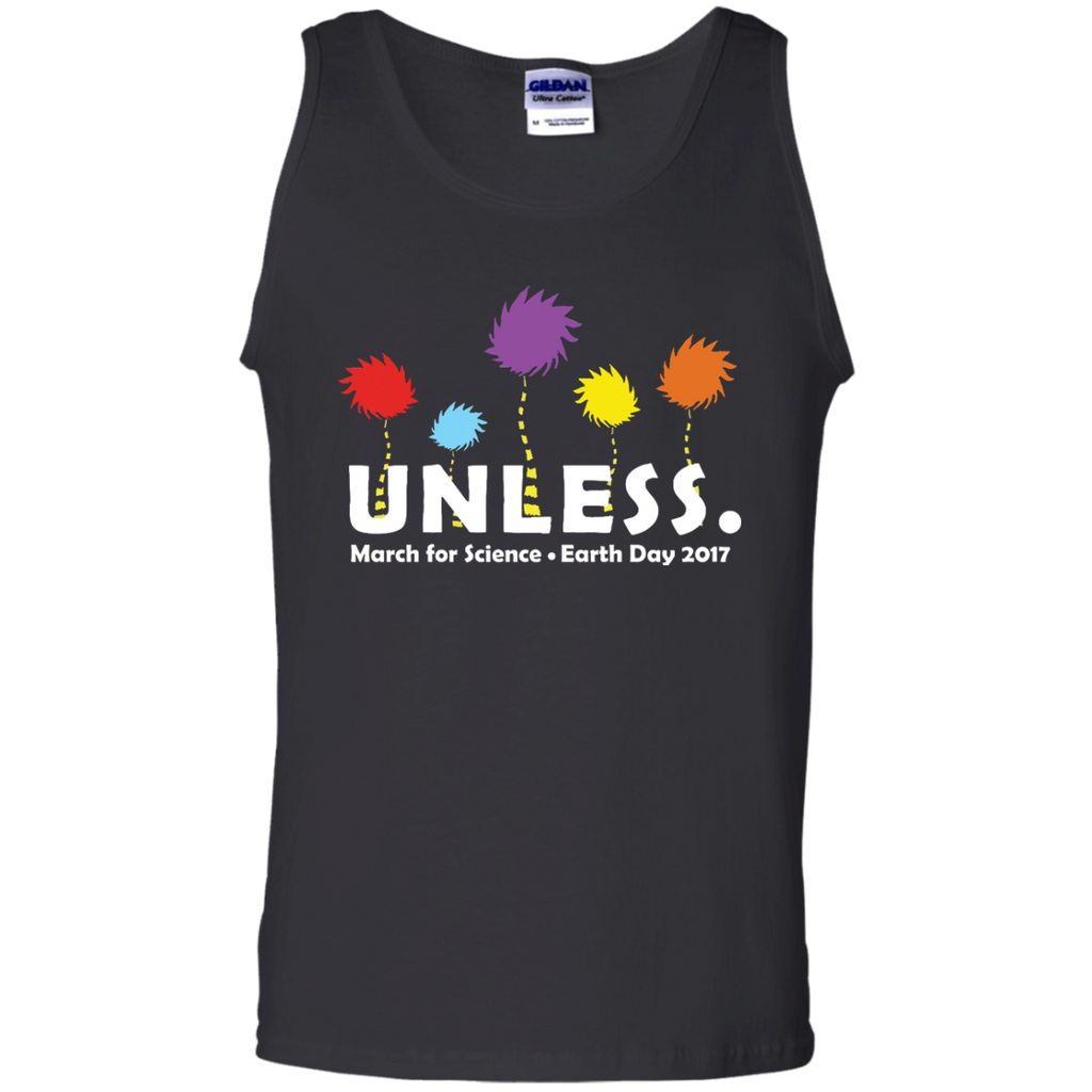 Cool-Unless-March-for-Science-Earth-Day-2017---Tank-top,-Women's-tank-top-100%-Cotton-Tank-Top-Black-S