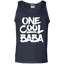 One-Cool-Baba---Grandfather-Dad-Gift-Tank-Top---Teeever.com-Black-S-
