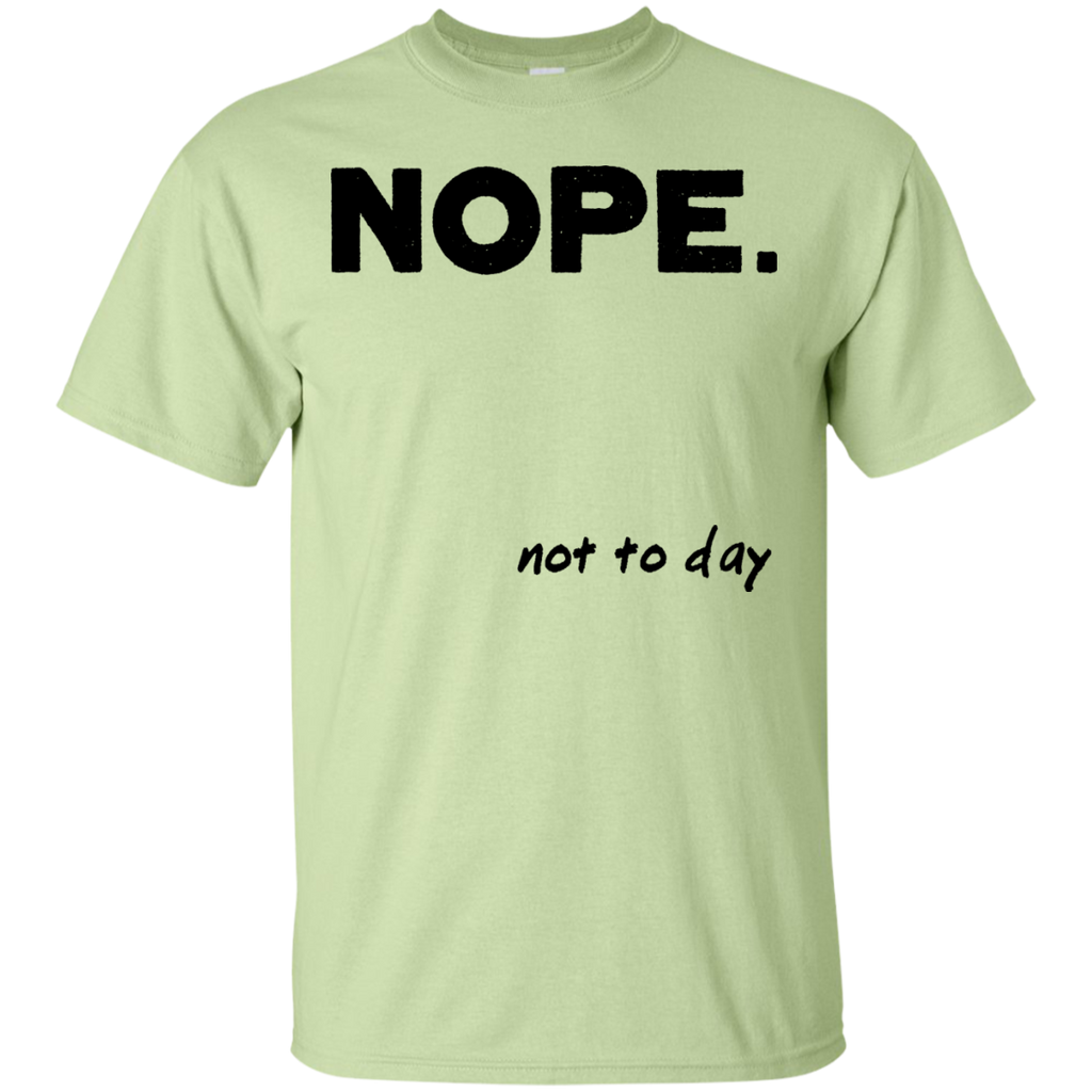 NOPE-Custom-Ultra-Cotton-T-Shirt-Sport-Grey-S-