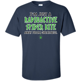 I'm-just-a-radioactive-spider-bite-T-Shirt-Sport-Grey-S-