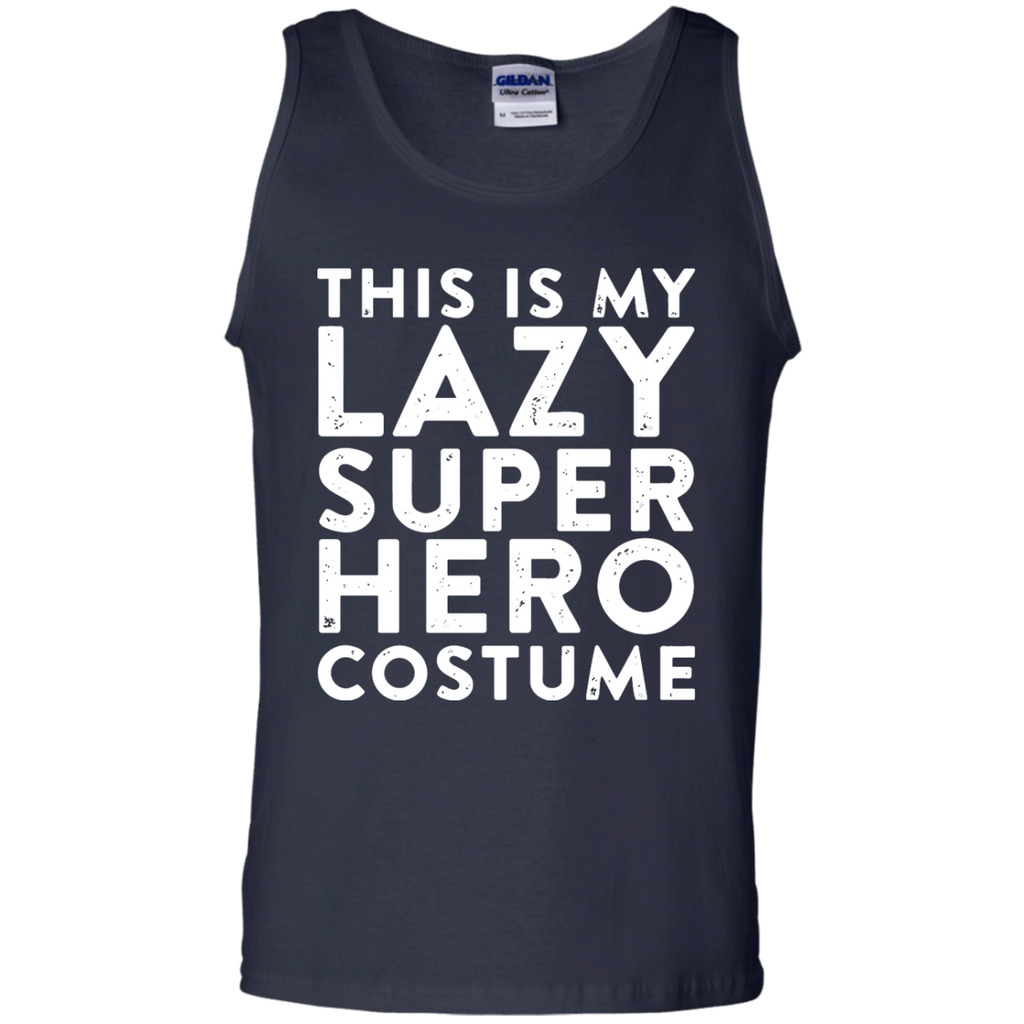 mifunneycraft---THIS-IS-MY-LAZY-SUPER-HERO-COSTUME-Tank-Top---Teeever.com-Black-S-