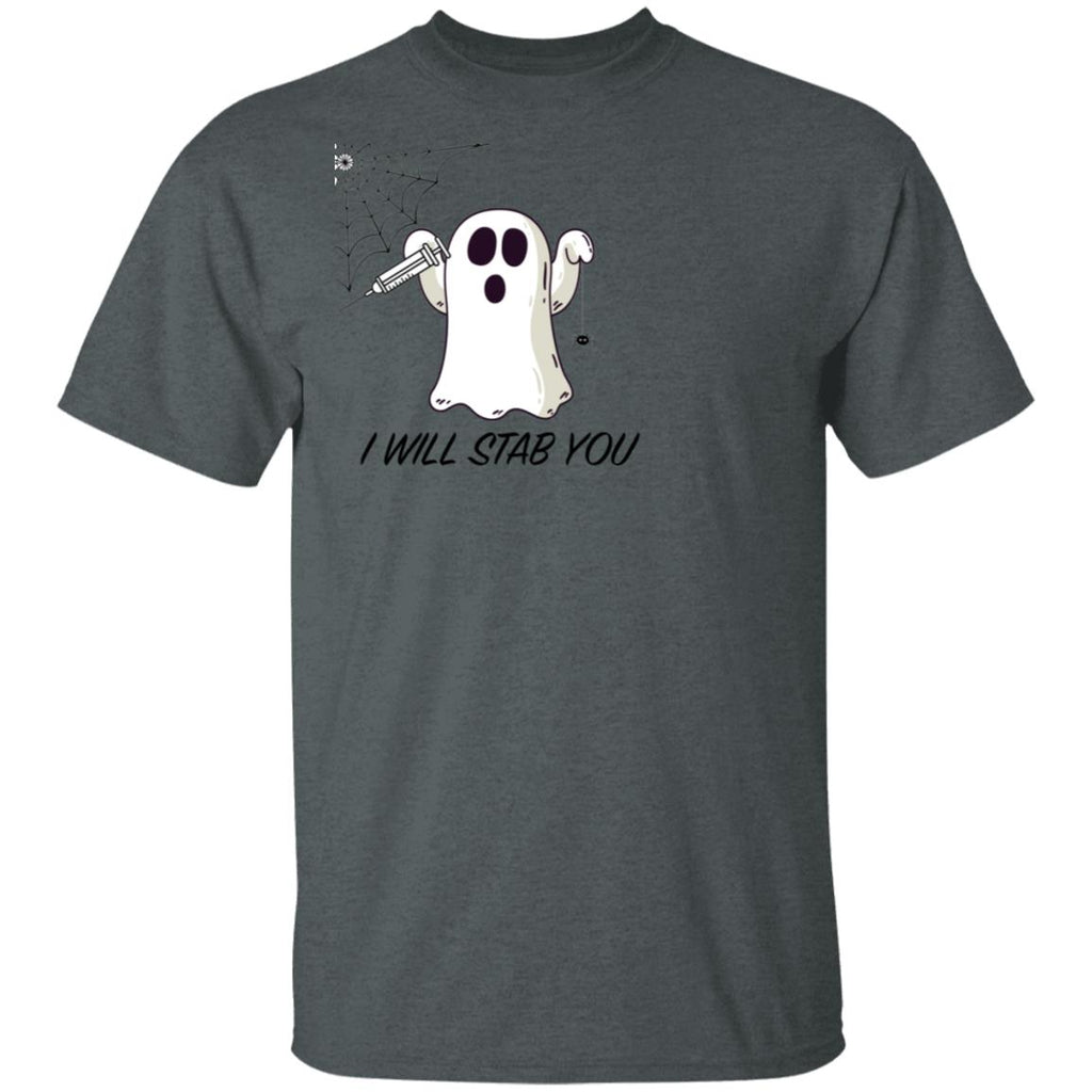 I Will Stab You Funny Nurse Ghost T-Shirt Halloween Gift Unisex T-Shirt
