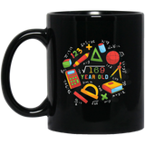 Square Root Of 169 13th Year Old Birthday Gifts Math Black mugs