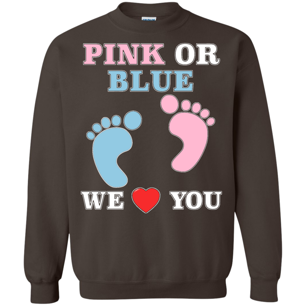 Pink-Or-Blue-We-Love-You-Heart-Baby-Shower-Gender-Reveal-Pullover-Sweatshirt---Teeever.com-Black-S-
