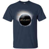 2017-US-Solar-Eclipse-Path-of-Totality-T-Shirt-Black-S-