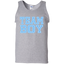 Team-Boy-Baby-Shower-Gender-Reveal-Party-Cute-Funny-Blue-100%-Cotton-Tank-Top-Sport-Grey-S-
