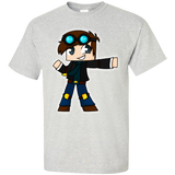 DanTDM---The-Diamond-Minecart-for-Youtuber-Gamer-T-Shirt-Ash-S-