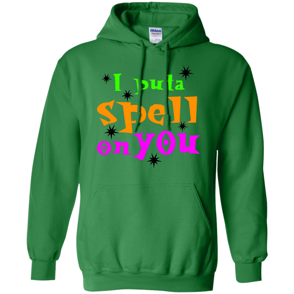 I-put-a-spell-on-you,-funny-halloween-Pullover-Hoodie-Sport-Grey-S-