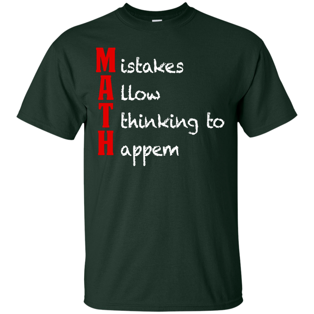 MAth-Funny-Math-Gifts-Mistakes-Allow-Thinking-T-Shirt-Black-S-