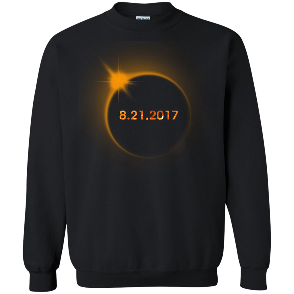 Circle-Total-Solar-Eclipse-Aug-21-2017-Pullover-Sweatshirt---Teeever.com-Black-S-