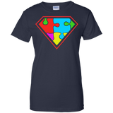 Autism-awareness---Super-Autism---Super-man---Men/Women-T-Shirt-Custom-Ultra-Cotton-T-Shirt-Black-S