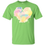 Big-colorful-heart---Valentines-day-Youth-Custom-Ultra-Cotton-Tee-White-YXS-