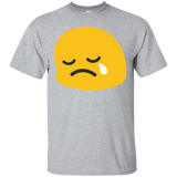 Sad-icon-T-shirt-Sport-Grey-S-