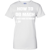 HOW-TO-DO-MATH-Ladies-Custom-100%-Cotton-T-Shirt-Sport-Grey-XS-