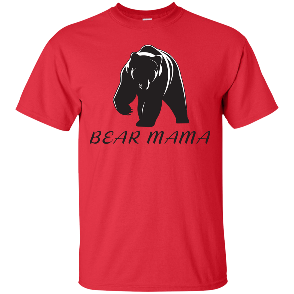 2017-Autism-Awareness-Mom---Mama-Bear---Men/Women-T-Shirt---Teeever-Custom-Ultra-Cotton-T-Shirt-White-S