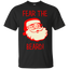 Fear The Beard Funny Christmas Santa Men/Women T shirt