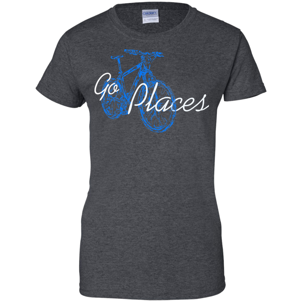 Go-places-Ladies-Custom-100%-Cotton-T-Shirt-Black-XS-