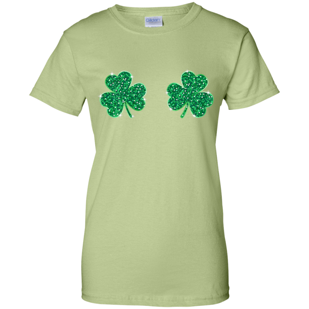 Womens-Cool-Shamrock-Boobs-Funny-St.-Patrick's-Day-Women's-T-Shirt-Black-X-Small-