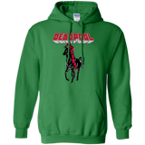 Deadpool-Rides-Unicorn-Graphic-Pullover-Hoodie---Teeever.com-Sport-Grey-S-