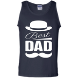 Amazing-Best-Dad-Father's-Day-Tank-Top-Black-S-