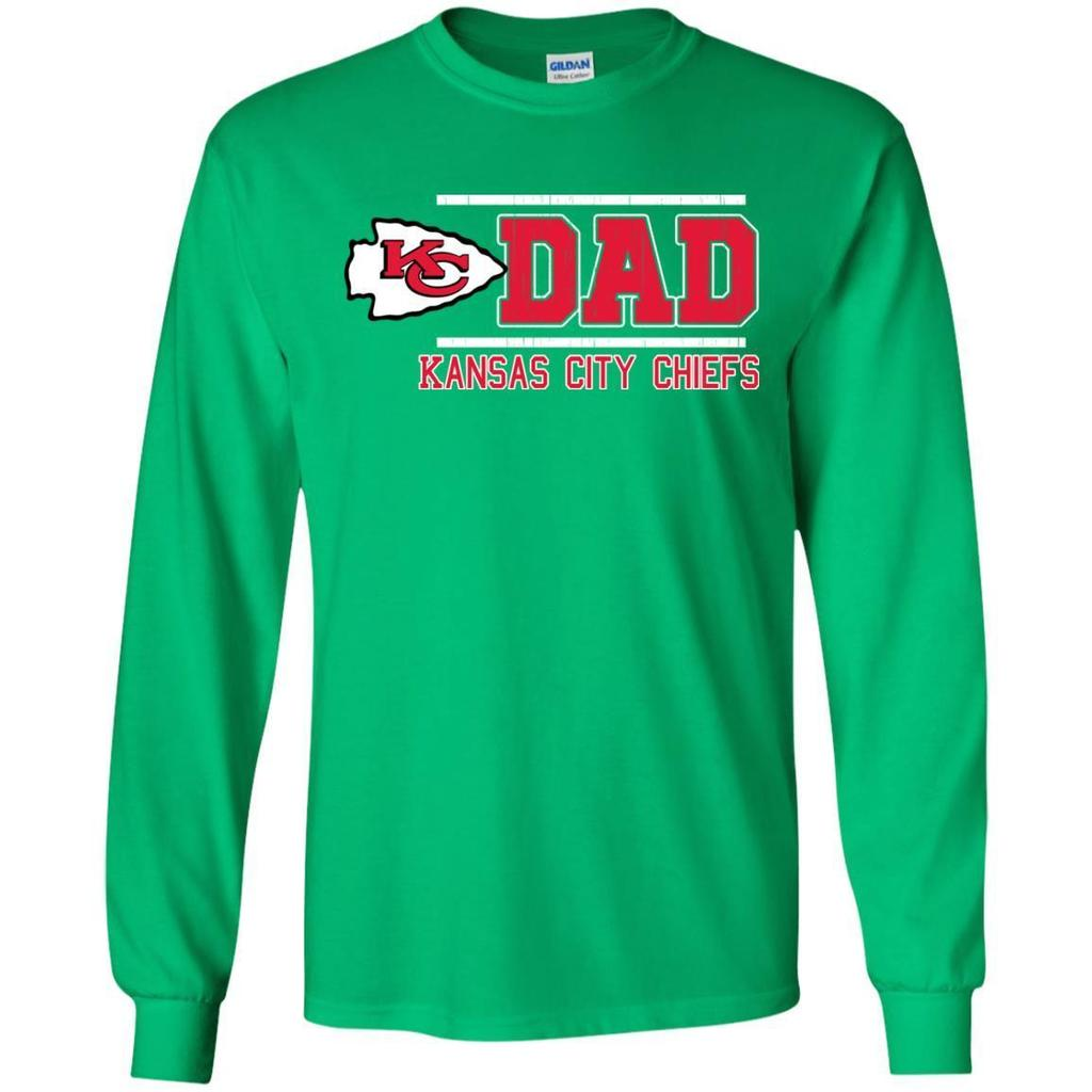Outstanding-Kansas-City-Chiefs-Dad---Father's-Day-2018-Shirt-Black-S-