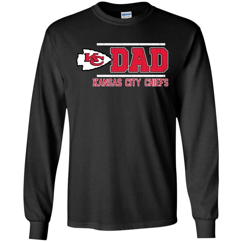 Outstanding Kansas City Chiefs Dad - Father's Day 2018 Shirt