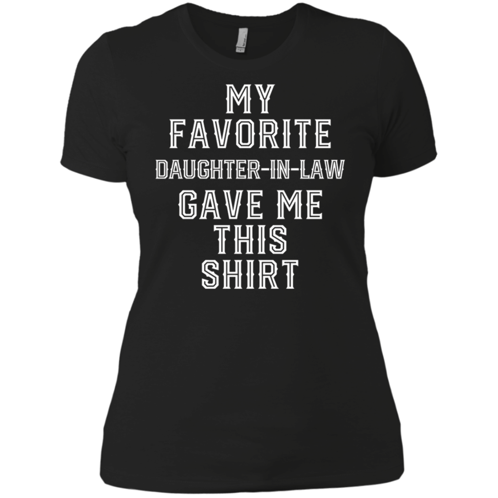Christmas Gift For Father Mother in Law Funny Birthday Gifts shirt Ladies' Boyfriend shirt